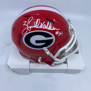 Herschel Walker Signed Georgia Bulldogs Speed Mini-Helmet