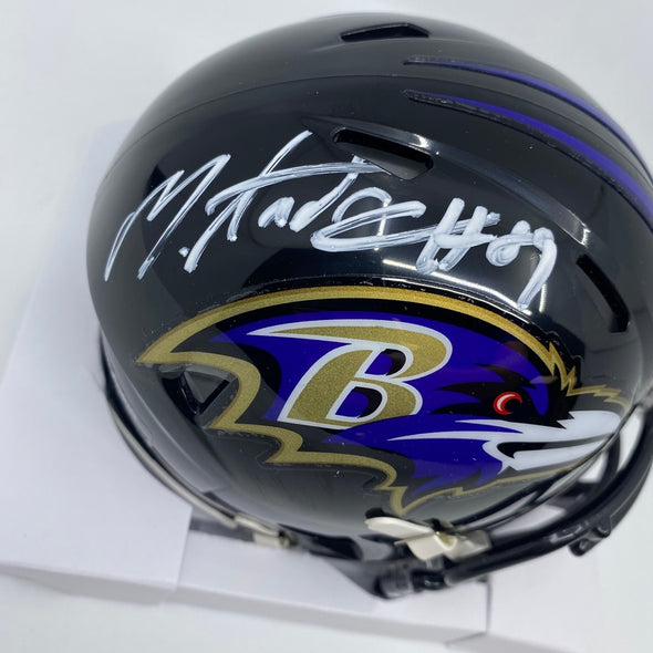 Mark Andrews Signed Baltimore Ravens Speed Mini-Helmet