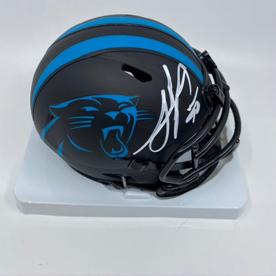 Julius Peppers Signed Carolina Panthers Eclipse Mini-Helmet