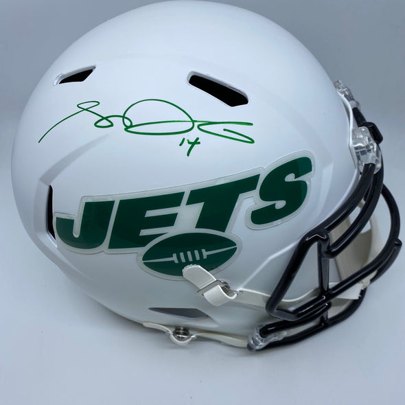 Sam Darnold Signed New York Jets Matte White Replica Helmet