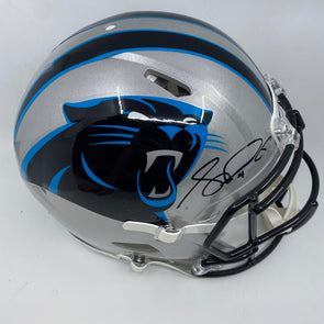 Sam Darnold Signed Carolina Panthers Full Size Speed Authentic Helmet