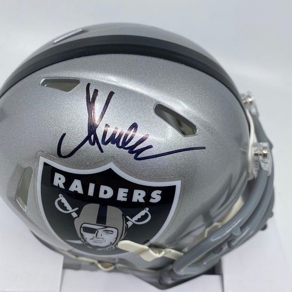 Marcus Allen Signed Oakland Raiders Speed Mini-Helmet