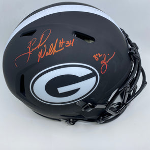 "Herschel Walker Signed Georgia Bulldogs Full Size Eclipse Authentic Helmet ""82 Heisman"""