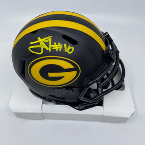 Jordan Love Signed Green Bay Packers Eclipse Mini-Helmet