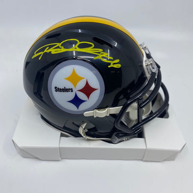 Rod Woodson Signed Pittsburgh Steelers Signed Speed Mini-Helmet
