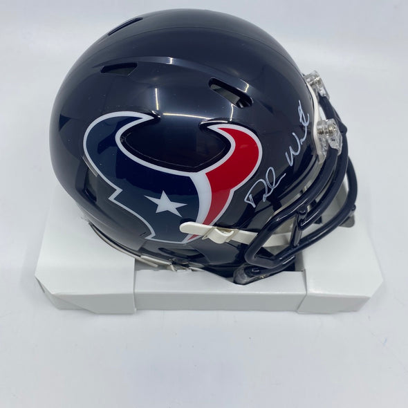 Deshaun Watson Signed Houston Texans Speed Mini-Helmet