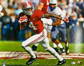 Jerry Jeudy Signed Alabama Crimson Tide 16x20 Running Photo