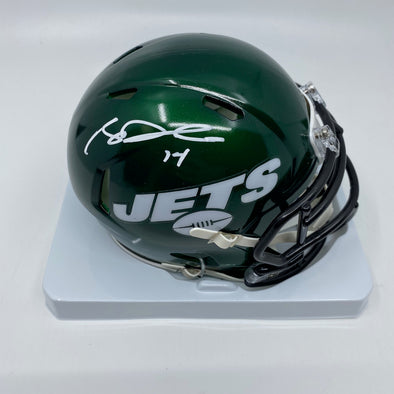 Sam Darnold Signed New York Jets Speed Mini-Helmet