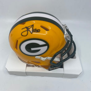 Jordan Love Signed Green Bay Packers Speed Mini-Helmet