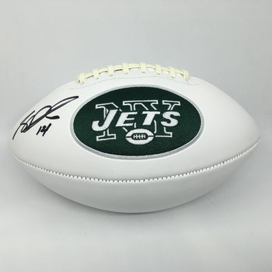 Sam Darnold Signed New York Jets White Panel Football