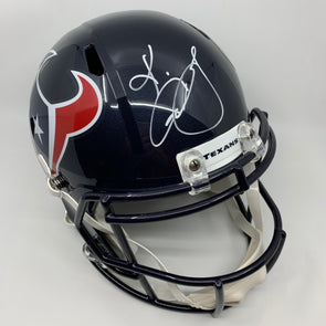 KeKe Coutee Signed Houston Texans Speed Replica Helmet