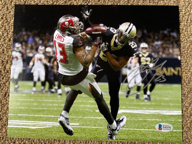"Marshon Lattimore Signed New Orleans Saints ""Pass Breakup"" Photo"