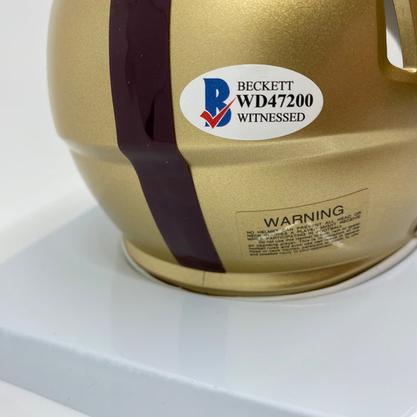 Doug Flutie Signed Boston College Eagles Speed Mini-Helmet