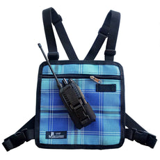 UHF Harness Chest Blue