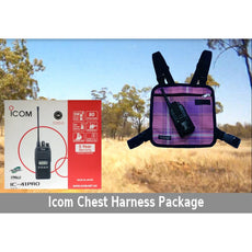 Icom IC-41PRO / Chest Harness Package