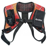 Shoulder Harness Name Labelled