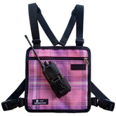 UHF Harness Chest Pink