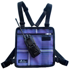 UHF Harness Chest Purple