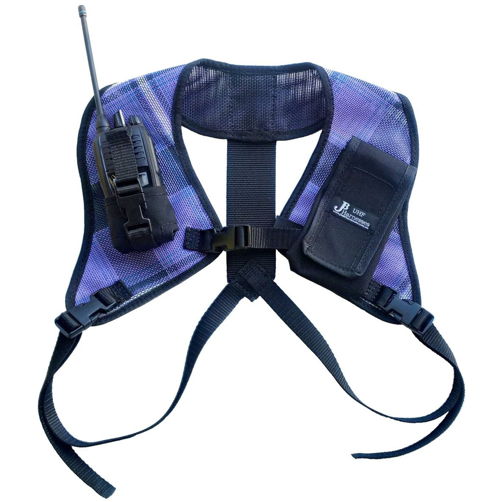UHF Harness Double Shoulder Purple