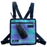 UHF Harness Chest Turquoise