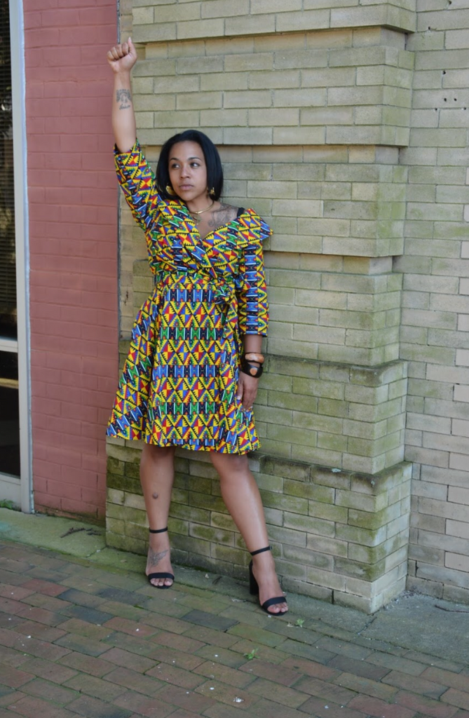 Carefree Wrap Dress