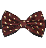 Diamonds Pattern Silk Bow Tie - KITOKO