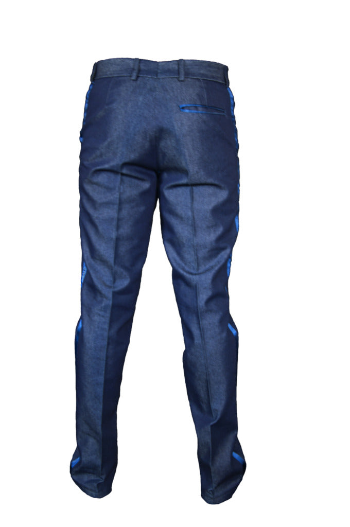Hush Denim Blue Trousers - KITOKO