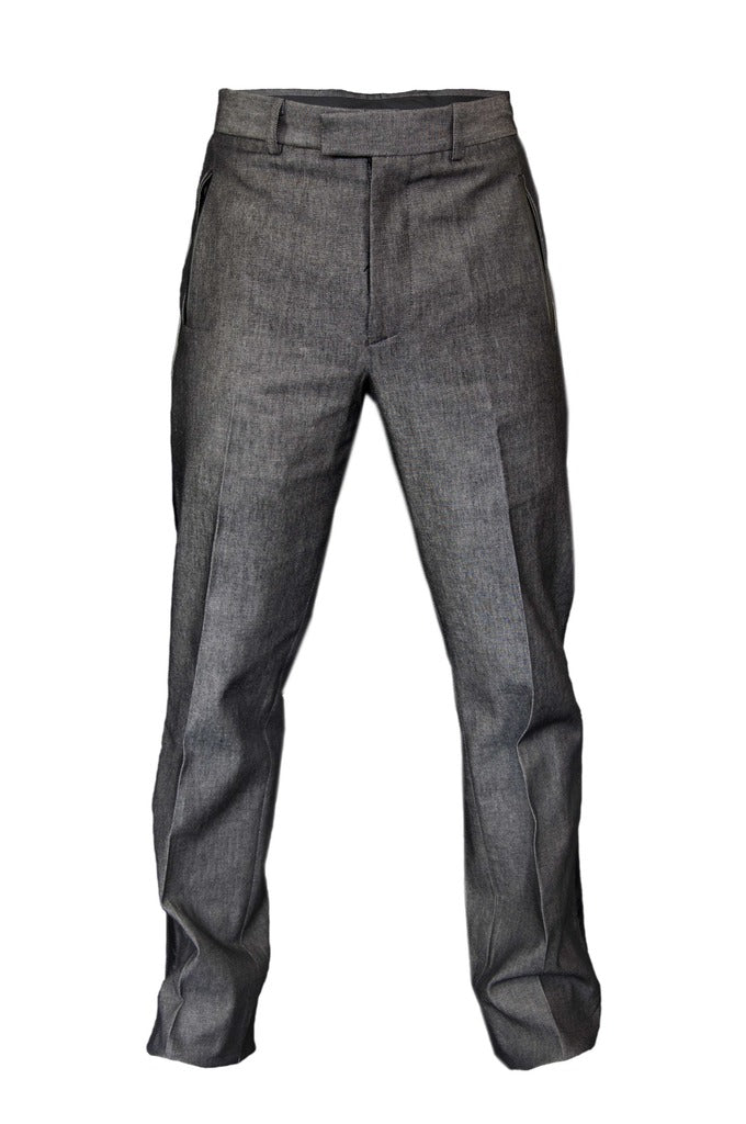 Hush Denim Grey Trousers - KITOKO