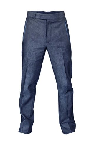 Hush Denim Blue Trousers