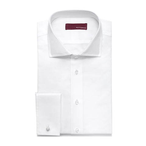 Windsor Jacquard Double Cuff Shirt