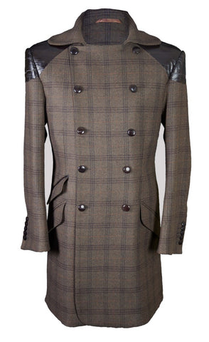 Brown Tweed Coat