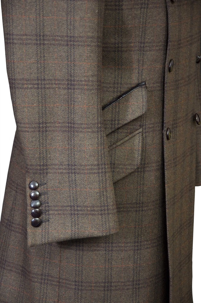Brown Tweed Coat - KITOKO
