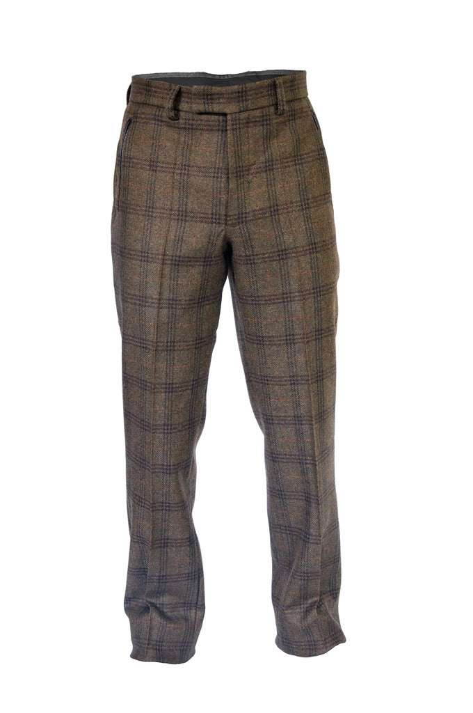 Saxon Tweed Trousers - KITOKO