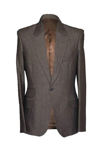 Lock Stock Suit Brown