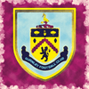 Print of Burnley F.C. Crest Badge 0014