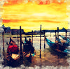 Watercolour Italy Venice Grand Canal at Night 0260