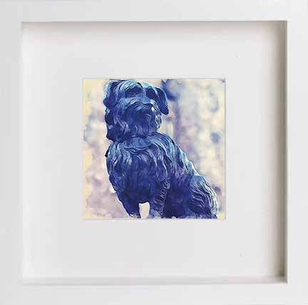 Watercolour Print of Edinburgh Greyfriars Bobby 0027