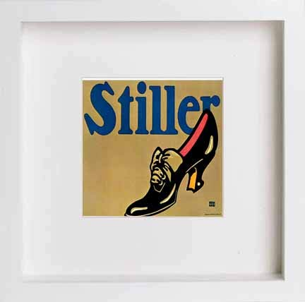 Vintage Poster Stiller Shoes - [Lumartos]
