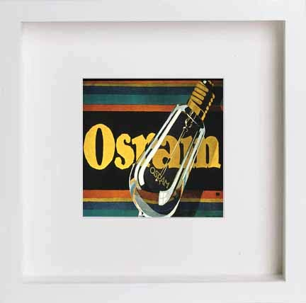 Vintage Poster Osram Electric Light Bulbs - LUMARTOS