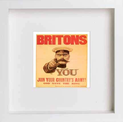 Vintage Poster Britons Join Your Countrys Army - [Lumartos]