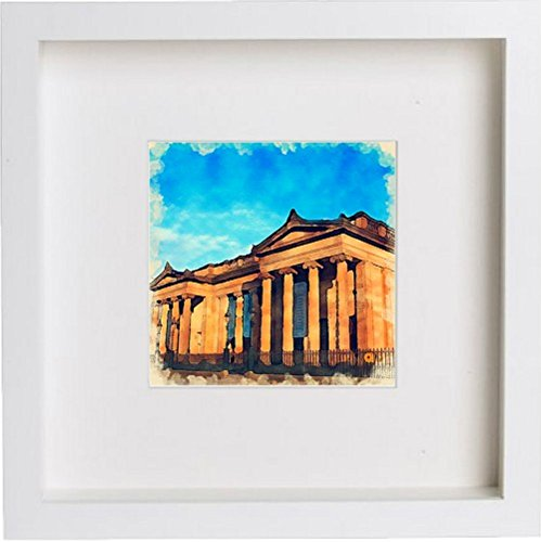 Watercolour Print of Edinburgh Royal Scottish Academy 0031 - [Lumartos]