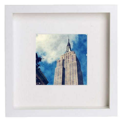 Watercolour Print of New York City Collection The Empire State Building 156