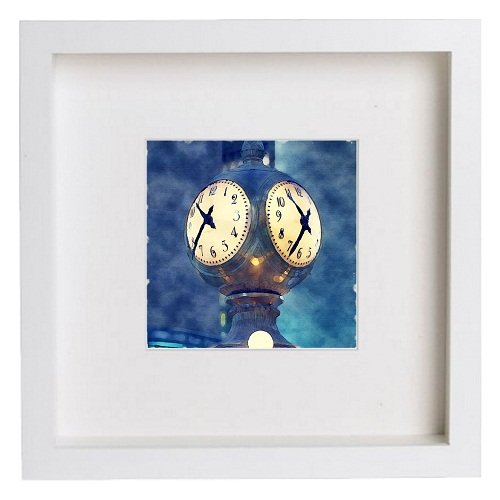 Watercolour Print of New York City Collection Grand Central Station Clock 199