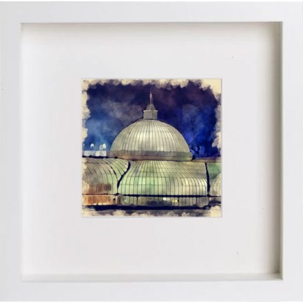 Watercolour Print of Glasgow Botanical Gardens 0212