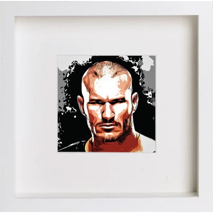 Watercolour Print of Wwe Raw Randy Orton 237