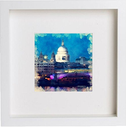 Watercolour Print of London St Paul's Cathedral II 108