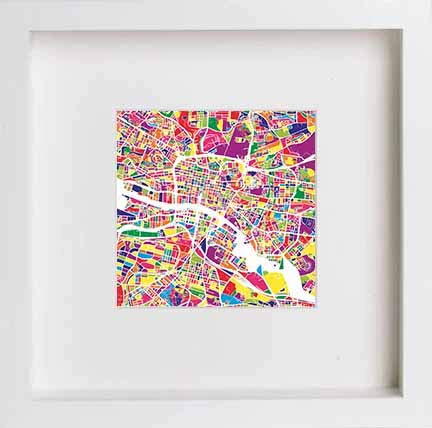 Glasgow Ashton Lane Watercolour Print 0041 | LUMARTOS