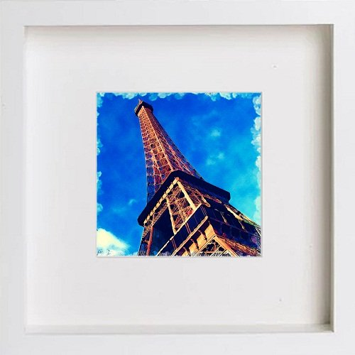 Watercolour Print of Paris Collection The Eiffel Tower 165