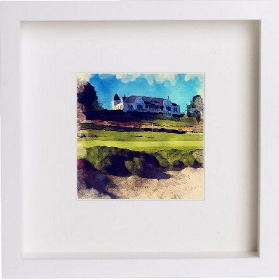 Watercolour Print of Golf The Duke's Golf Course 81