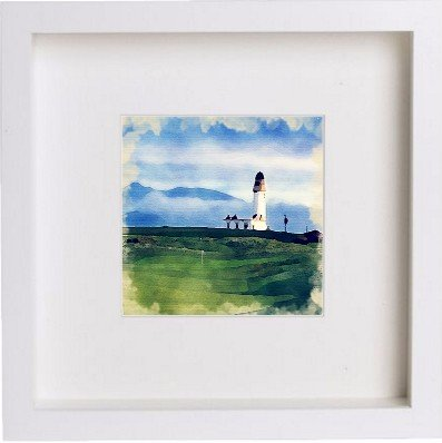 Watercolour Print of Golf Turnberry Golf Course 83 - [Lumartos]